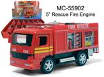 "5"" RESCUE FIRE ENGINE"