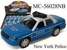 POLICE SERIES-BLUE - NEW YORK