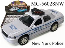 POLICE SERIES-WHITE NEW YORK
