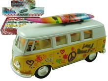 "1:32 5"" VW CLASSIC BUS WITH SURFBOARD"