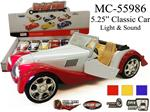 "5.25"" CLASSIC CAR WITH SOUND & LIGHT"