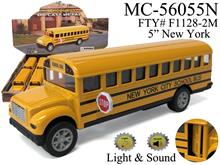 "5"" SCHOOL BUS - SOUND & LIGHT - NEW YORK"